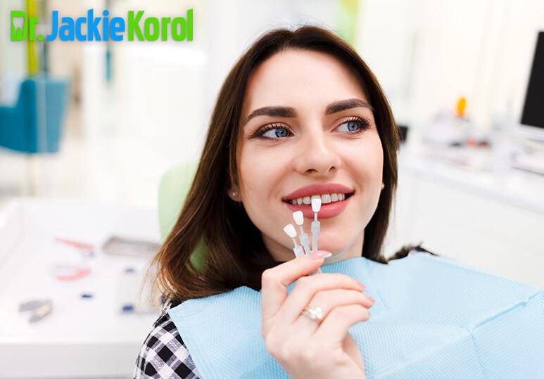 Dr Jackie Korol - Blog -  Veneers with Crooked Teeth